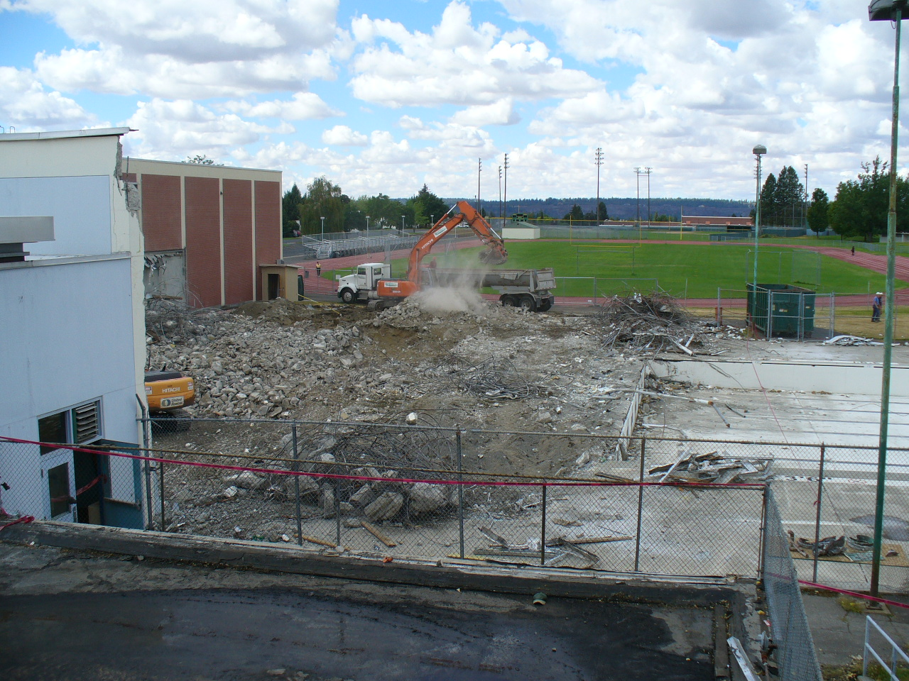 Tcs Shadle Park High School Demolition